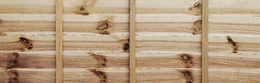 horizontal background or texture of a new wooden fence